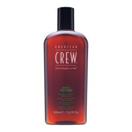 TEA TREE 3 EN 1 SHAMPOO & BODY WASH AMERICAN CREW 450 ml