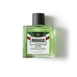 LOCION AFTER-SHAVE PRORASO LINEA VERDE EUCALIPTO 100 ml