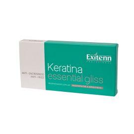 KERATINA ESENCIAL GLISS HIDRATACION EXITENN 10 x 7 ml