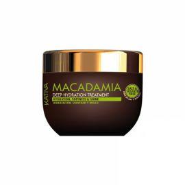 MASCARILLA DEEP TREATMENT MACADAMIA HIDRATACION Y FUERZA KATIVA 250 ml