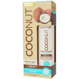 SERUM CREAM RECONSTRUCCION Y BRILLO COCONUT KATIVA 200 ml