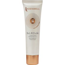 CREMA FACIAL MULTIPROTECTORA SPF30 SOLARES KEENWELL 60 ml