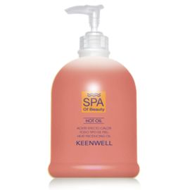 ACEITE EFECTO CALOR SPA OF BEAUTY MASAJE KEENWELL 500 ml
