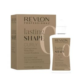 CURLY RESISTANT HAIR LASTING SHAPE REVLON 3 x 100 ml