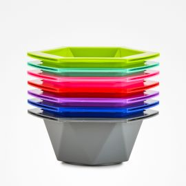 SET BOWLS HEXA COLORS LINEA COLOR BIFULL 7 Unidades