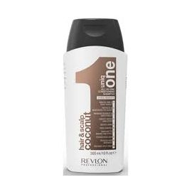 SHAMPOO CONDITIONER COCONUT UNIQ ONE 300ml.