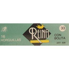 HORQUILLA MOÑO CON BOLA Nº 33 REINA FAMA FABRE 400 Unidades
