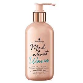 CHAMPU SIN SULFATOS MAD ABOUT WAVES SCHWARZKOPF 300ml