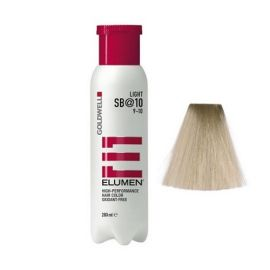 COLORACION SIN OXIDACION ELUMEN LIGHT SB@10 GOLDWELL 200ml