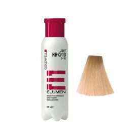 COLORACION SIN OXIDACION ELUMEN LIGHT NB@10 GOLDWELL 200ml