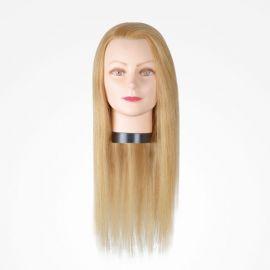"MANIQUI GIRL BLONDE 45cm 17.7"" RUBIO BIFULL CABELLO 100% HUMANO"
