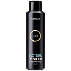 CHAMPU EN SECO TEXTURE FRESH AIR DECODE MONTIBELLO 200ml