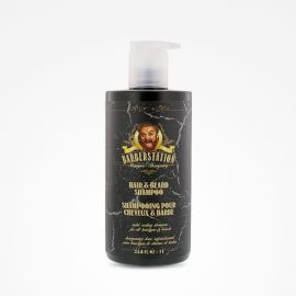 CHAMPU CABELLO Y BARBA BARBERSTATION 1000ml