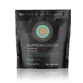 DECO SUPREMA BLEACHING POWDER BLUE ALLUMINIUM BAG FARMAVITA 500gr