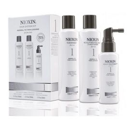 TRIAL KIT SISTEMA 1 NIOXIN 150ml + 150ml + 50ml