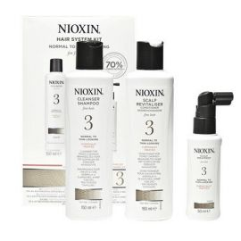 TRIAL KIT SISTEMA 3 NIOXIN 150ml + 150ml + 50ml
