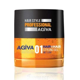 STYLING GEL 01 WET LOOK HAIR STYLING GEL AGIVA 700ml