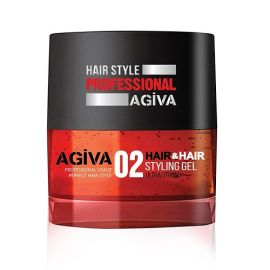 STYLING GEL 02 ULTRA STRONG HAIR STYLING GEL AGIVA 700ml