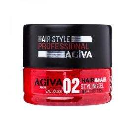 STYLING GEL 02 ULTRA STRONG HAIR STYLING GEL AGIVA 200ml