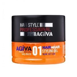 STYLING GEL 01 WET LOOK HAIR STYLING GEL AGIVA 200ml
