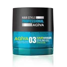STYLING GEL 03 EXTRA STRONG HAIR STYLING GEL AGIVA 700ml