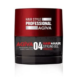 STYLING GEL 04 GUM POWER GEL HAIR STYLING GEL AGIVA 700ml