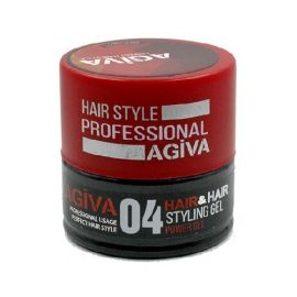 STYLING GEL 04 GUM POWER GEL HAIR STYLING GEL AGIVA 200ml