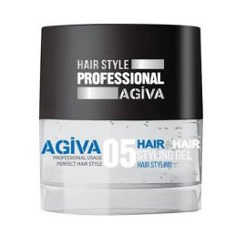 HAIR STYLING GEL 05 TRANSPARENT FLEXIBLE AGIVA 700ml