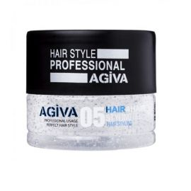 HAIR STYLING GEL 05 TRANSPARENT FLEXIBLE AGIVA 200ml