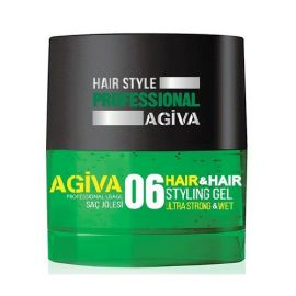 HAIR STYLING GEL 06 ULTRA STRONG & WET AGIVA 700ml