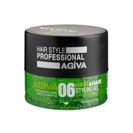 HAIR STYLING GEL 06 ULTRA STRONG & WET AGIVA 200ml