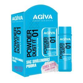 HAIR POWDER WAX DUST IT 01 FLEXIBLE AGIVA 20 gr