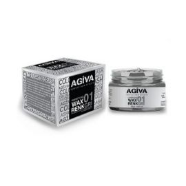 HAIR PIGMENT WAX 01 ASH AGIVA 120ml