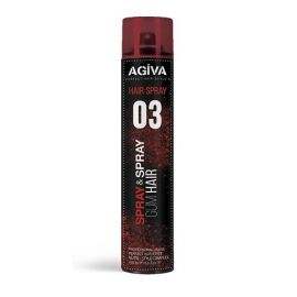 STYLING HAIR SPRAY 03 GUM AGIVA 400ml