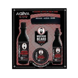 BEARD & MOUSTACHE GIFT SET AGIVA