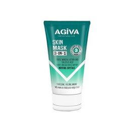 SKIN MASK 3 IN 1 MENTHOL CRYSTALS NATURAL LIFE AGIVA 150ml