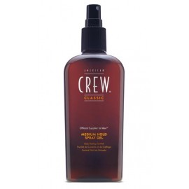 MEDIUM HOLD SPRAY GEL AMERICAN CREW 250 ml