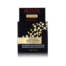 EDGE CONTROL AFRO REAL BLACK SEED REVLON 56gr