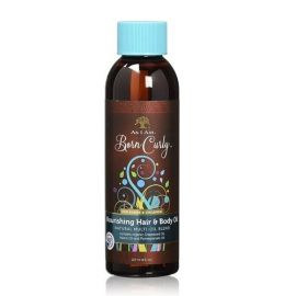 NOURISHING HAIR AND BODY OIL BORN CURLY AS I AM 120ml
