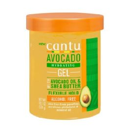 FEXIBLE HOLD GEL ALCOHOL FREE AVOCADO HYDRATING CANTU 524ml