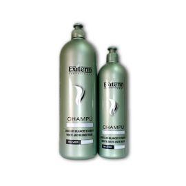 CHAMPU PLATA PARA CABELLOS BLANCOS EXITENN 1000 ml