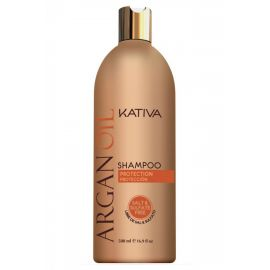 CHAMPU BRILLO Y PROTECCION ARGANOIL KATIVA 500 ml
