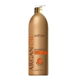 CHAMPU BRILLO Y PROTECCION ARGANOIL KATIVA 1000 ml
