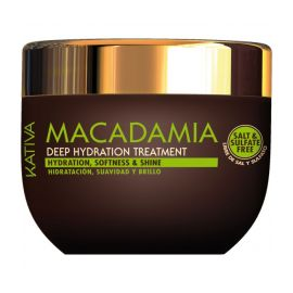 MASCARILLA DEEP TREATMENT MACADAMIA HIDRATACION Y FUERZA KATIVA 500 ml