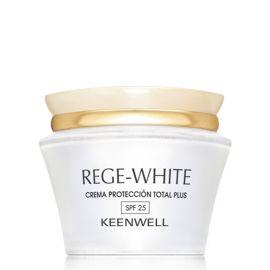 CREMA PROTECCION TOTAL PLUS SPF 25 REGE-WHITE KEENWELL 50 ml