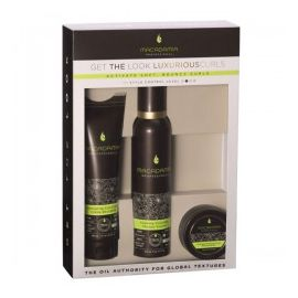 GET THE LOOK LUXURIOUS CURLS KIT MACADAMIA PROFESSIONAL
