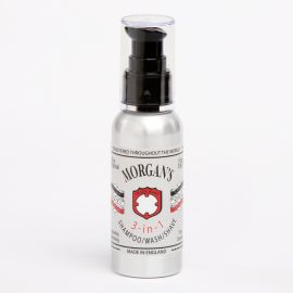 3 EN 1 SHAMPOO WASH & SHAVE BARBERIA MORGAN'S 100 ml