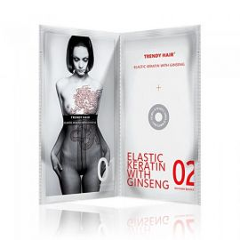 ELASTIC TRATAMIENTO KERATINA & GINSENG TRENDY HAIR Monodosis 30ml