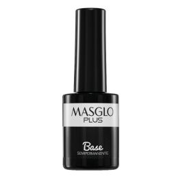BASE ESMALTE SEMIPERMANENTE PLUS MASGLO 15ml