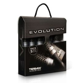 MALETIN 5 CEPILLOS TERMICOS EVOLUTION PLUS TERMIX
